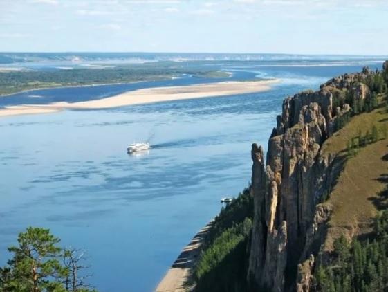 Сообщение о реке России. Река Лена